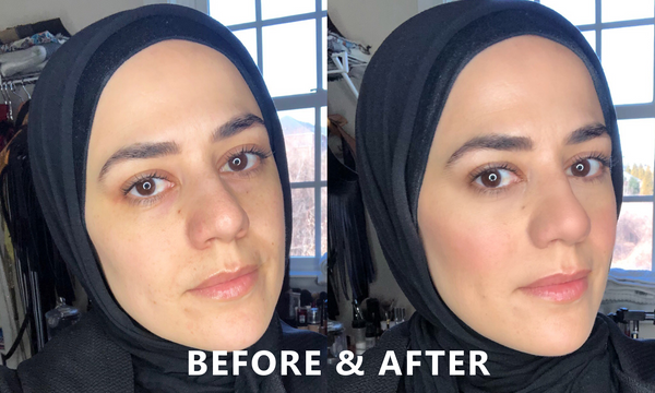 Before and After: A Zeena Guide to Natural Flawless Makeup | Zeena Uncovered