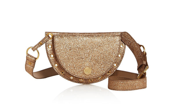 Kriss by Chloe Convertible Leather Belt Bag