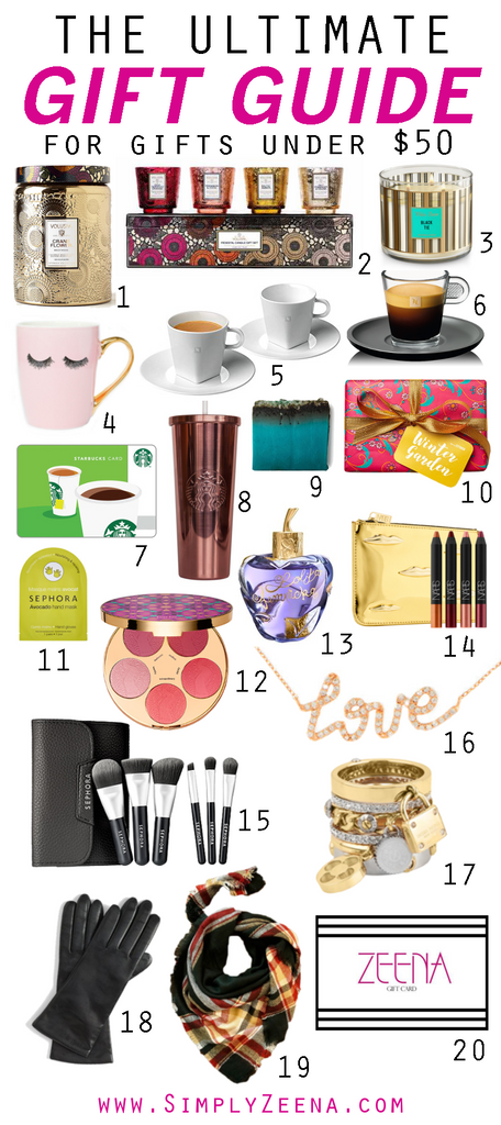 The Ultimate Gift Guide by Zeena