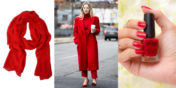 Red All Over NYFW 2018 Color Trend