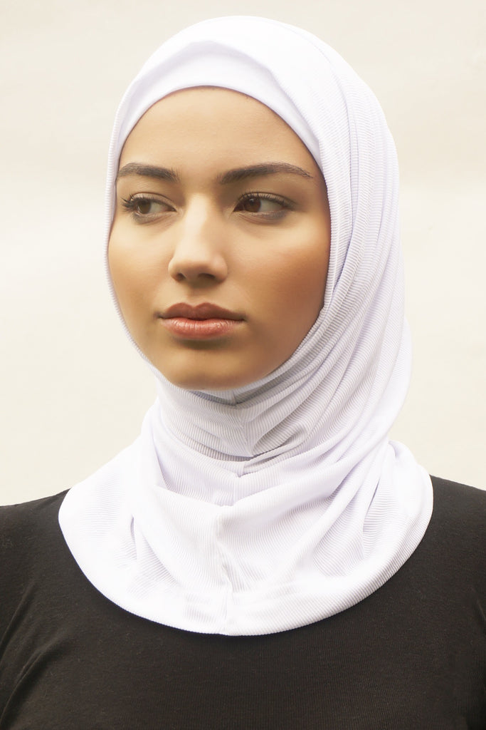 Active Hijab 2.0 - White