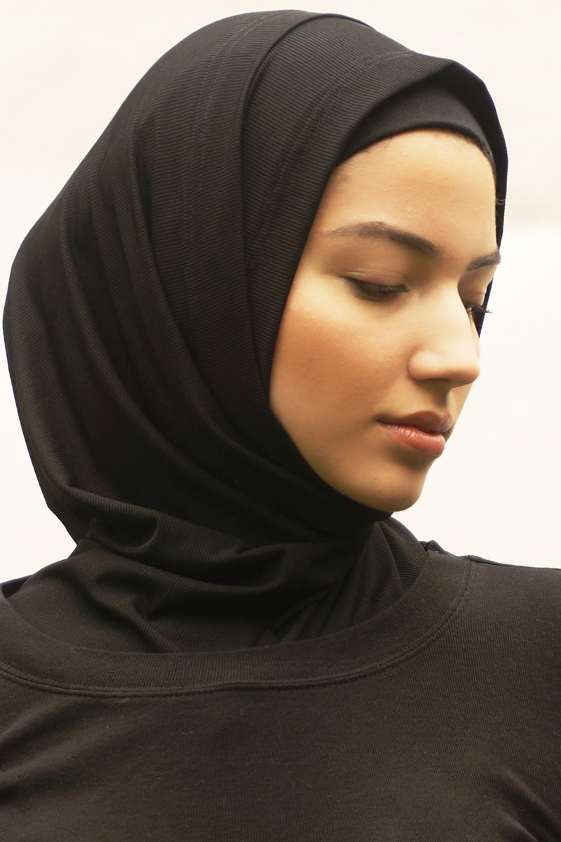 Active Hijab 2.0 - Black