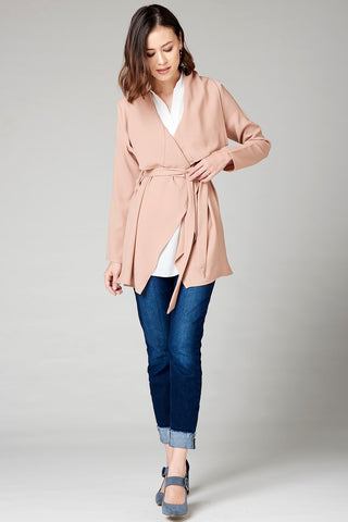 Modern Relaxed Blazer - Taffy