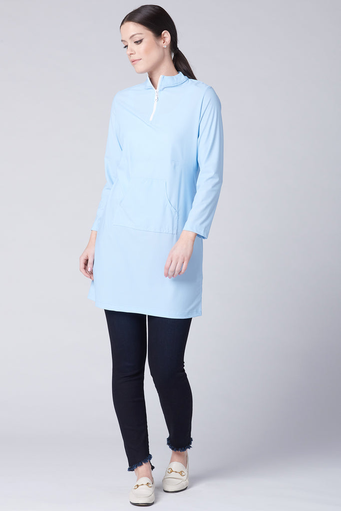 Modern Active Top - Baby Blue