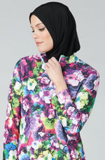 Active Swim Hijab - Black