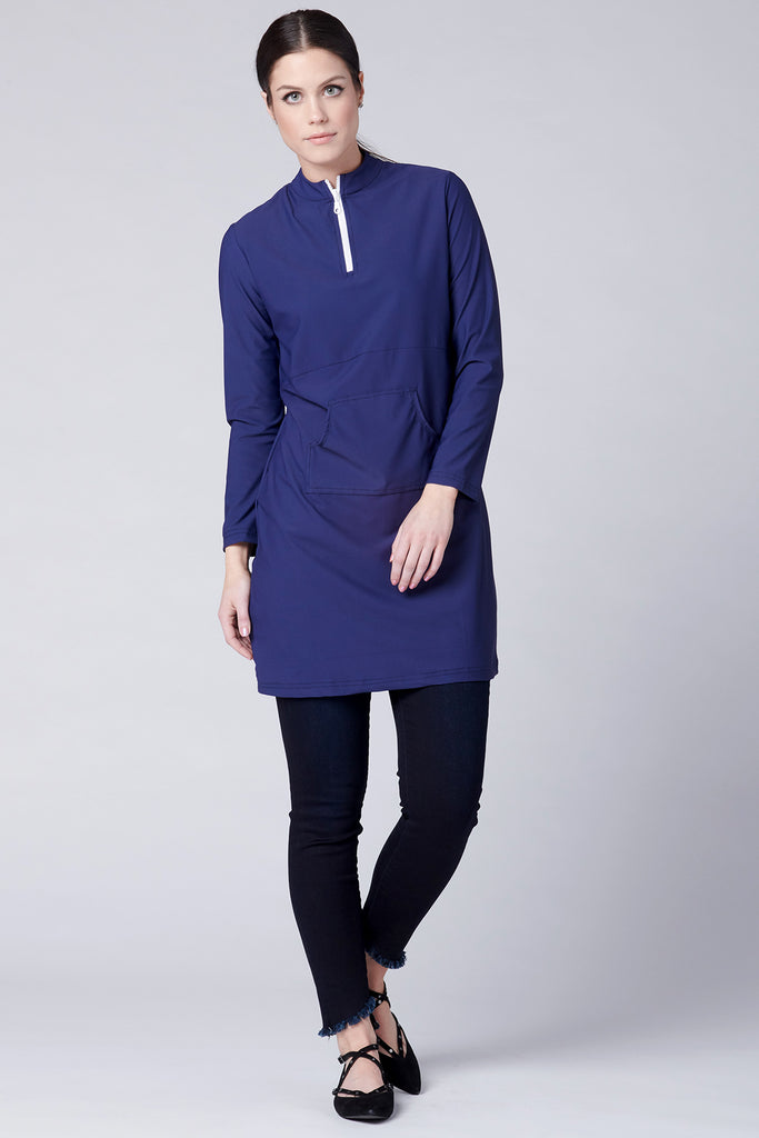 Modern Active Top - Navy