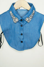 Denim Collar - Jewels