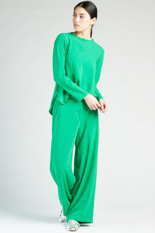 Parisian Hi-lo Tunic - Green