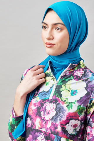 InstaHijab - Royal Plaid