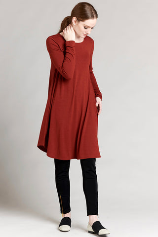 Elbow Patch Tunic - Black