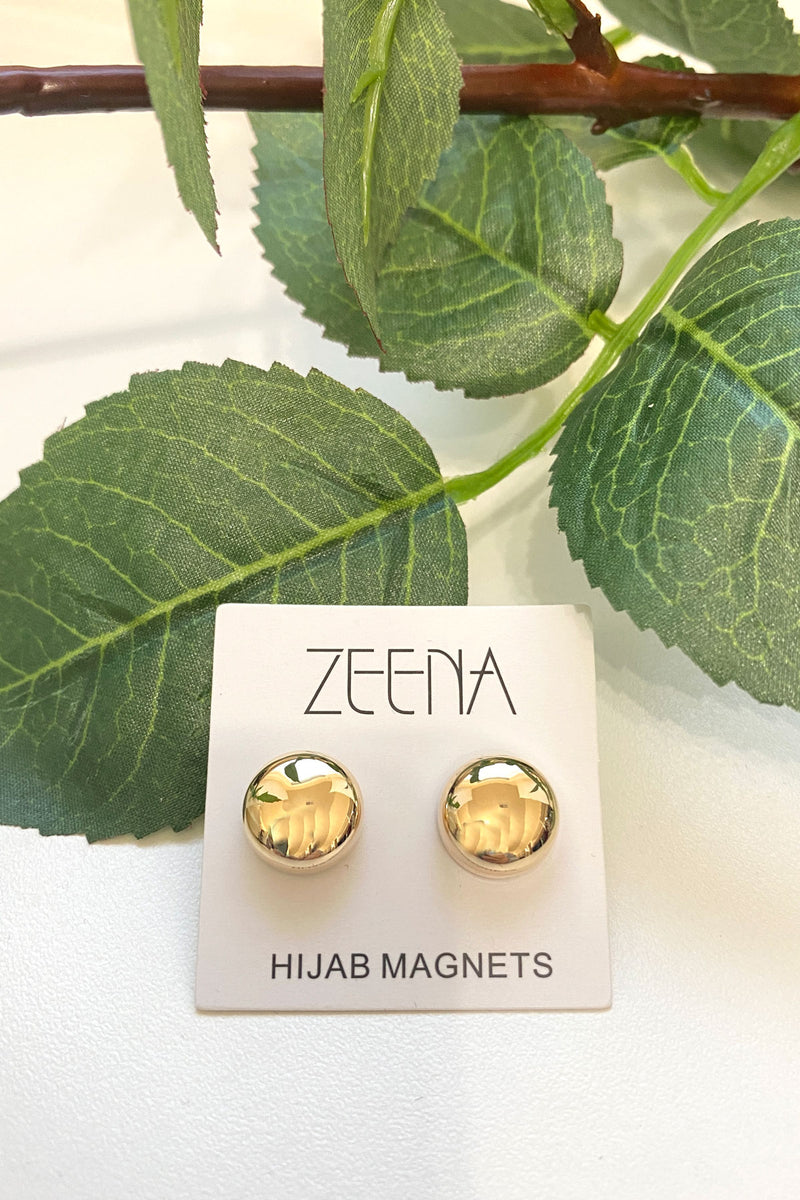 Hijab Magnets - Gold (2 pairs)