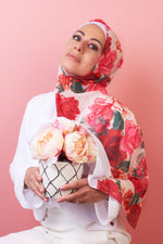 Color Block Hijab - Full Bloom