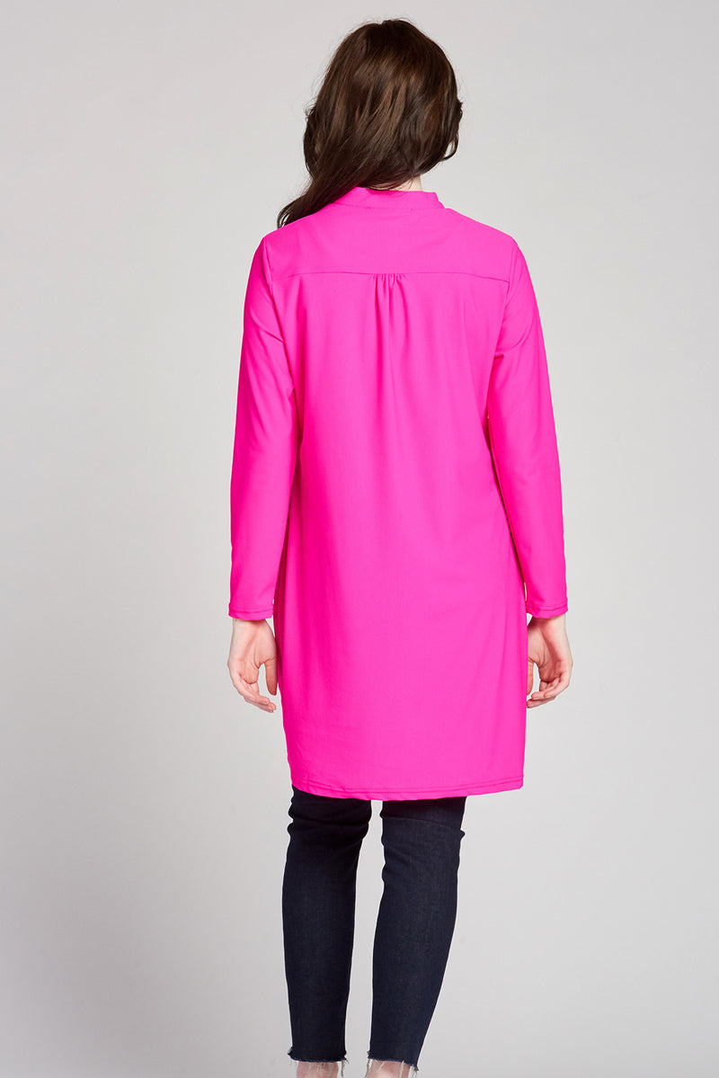 Modern Active Top - Hot Pink