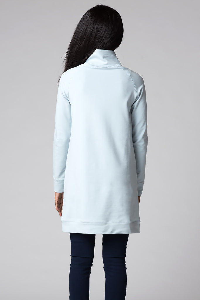 Modern Turtleneck Sweatshirt - ZEENA  - 3