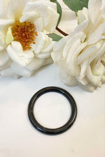 Hijab Ring - Black Tortoise
