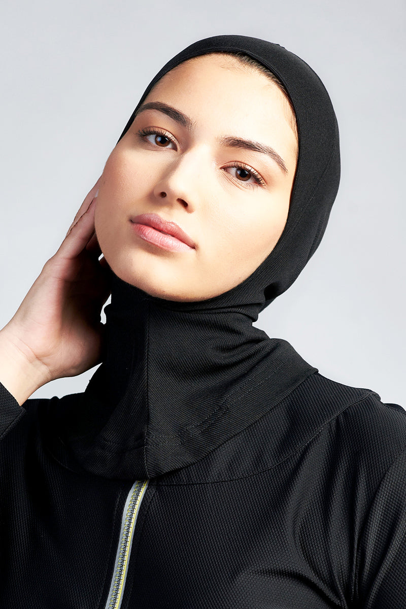 Training Hijab - Black