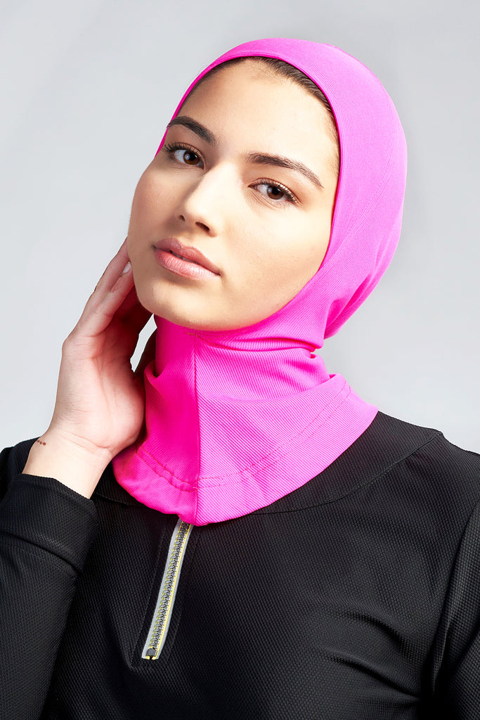 Training Hijab - Hot Pink