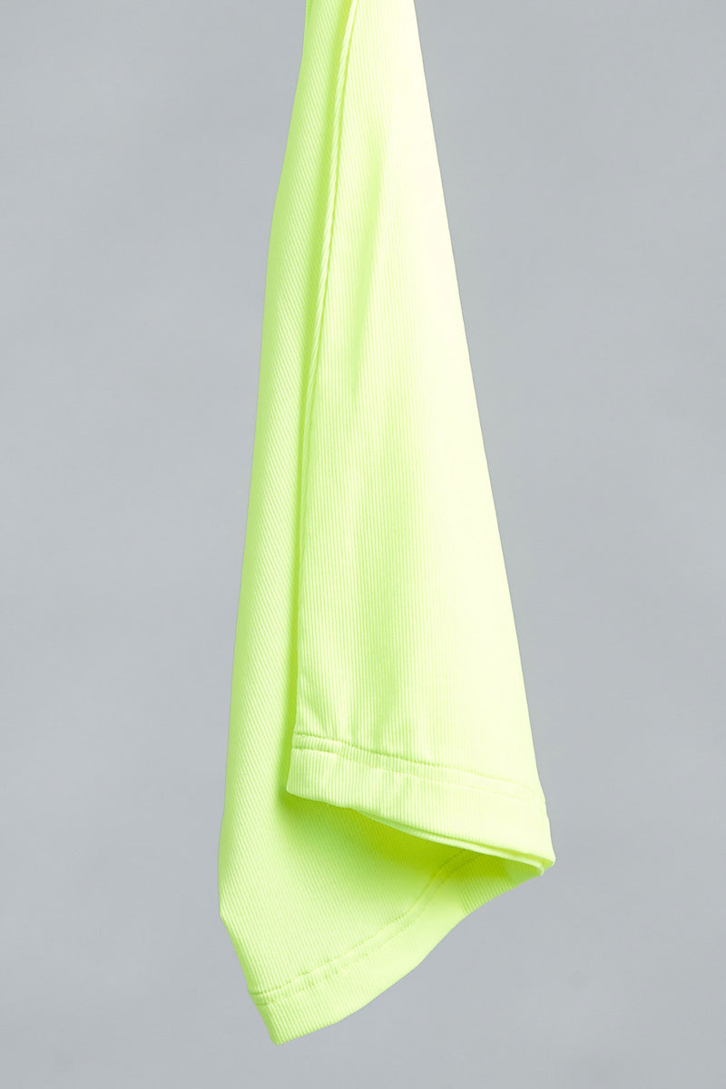 Ribbed Active Tube - Neon