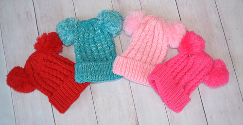 Pom Pom Hat- Sold OUT!