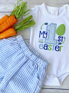 Boy's First Easter Bodysuit