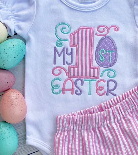 Girl's First Easter Bodysuit