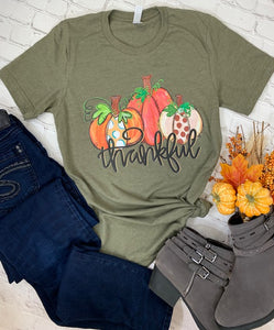 Thankful Pumpkin Tee