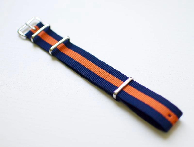 Regimental Blå-Orange (20)