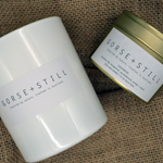 Cashmere blend candles are hand crafted and hand poured using a natural soy wax blend of Moroccan Jasmine, Lily of the Valley, bergamot, sandlewood, amber and musk