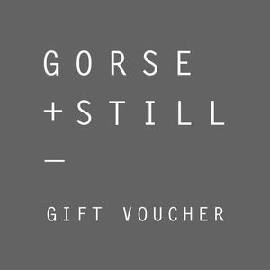 Choose a gift voucher from Gorse and Still for £25, £50 or £100