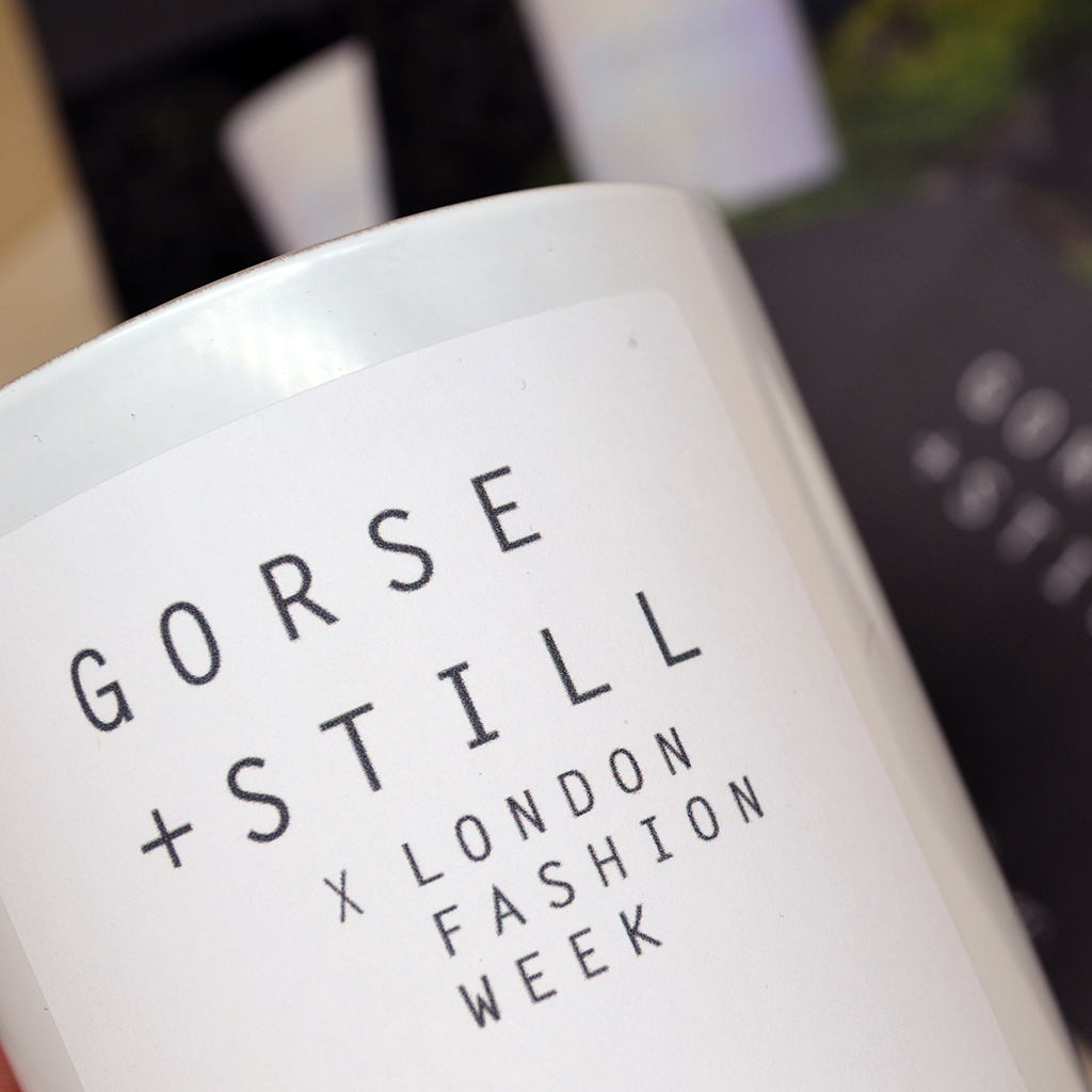 limited edition cashmere blend for london fashion week from gorse and still