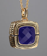Sally Tanzanite Purple/Gold