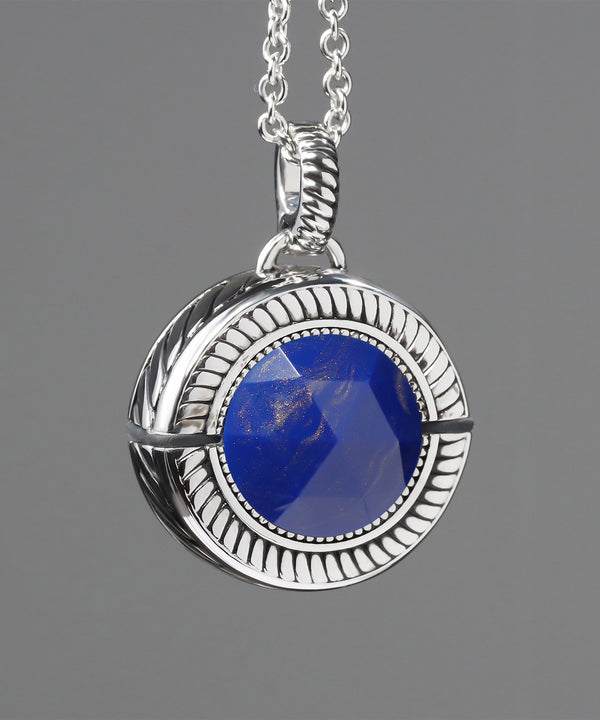 Bella Lapis Blue/Rhodium