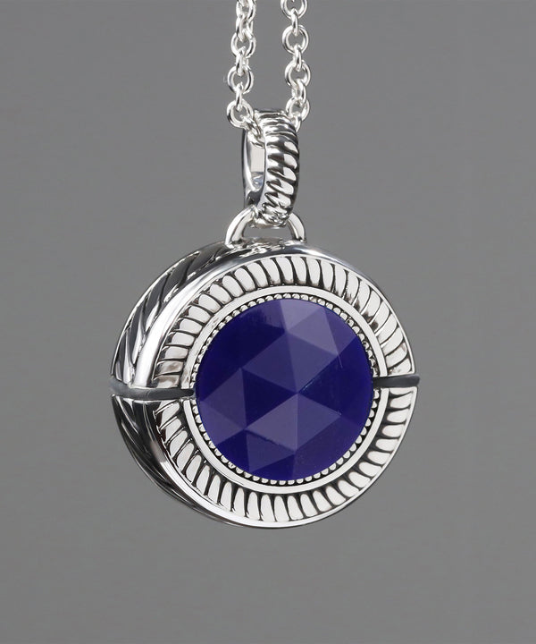 Bella Tanzanite Purple/Rhodium