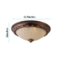 Load image into Gallery viewer, LED Decorative Ceiling Light 3 in 1 Color 11 inches, Antique Gold