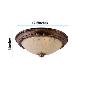 LED Decorative Ceiling Light 3 in 1 Color 11 inches, Antique Gold