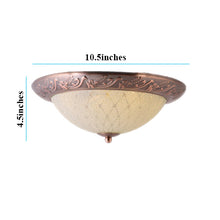 Load image into Gallery viewer, LED Decorative Ceiling Light 3 in 1 Color, Antique Gold-Starry Night