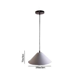 Grey Pendant Light E27 Bulb Holder-Starry Night