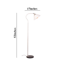 Load image into Gallery viewer, Reading Floor Lamp Modern Lamp, Silver E27