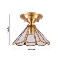 Load image into Gallery viewer, Ceiling Light Copper American Style, E27