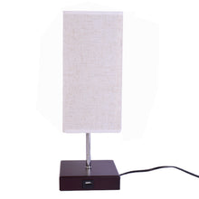 Load image into Gallery viewer, Brown E27 Table Lamp Bedside Lamp with On/Off Switch