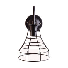 Load image into Gallery viewer, Cage Wall Light Industrial Edison Look, E27