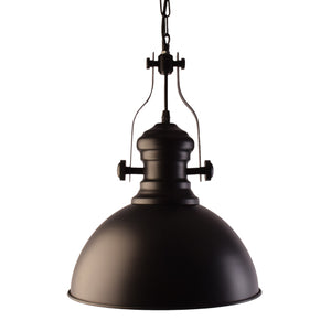 Industrial Look Pendant Light, Black-Starry Night