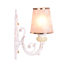 Load image into Gallery viewer, Wall Light White with Gold, E27