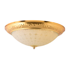 Load image into Gallery viewer, LED Decorative Ceiling Light 30 watts 3 in 1 Color, Gold