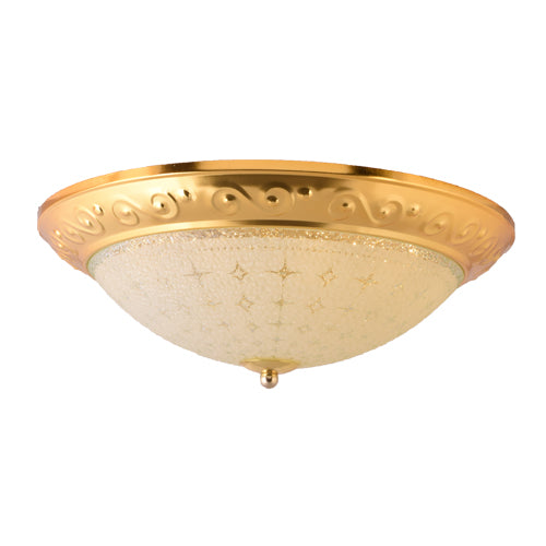 LED Decorative Ceiling Light 30 watts 3 in 1 Color, Gold