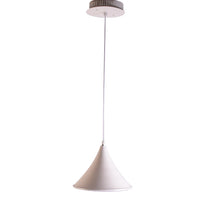 Load image into Gallery viewer, Cone LED Pendant Light White