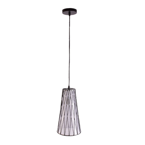 Black Pendant Light with Shade