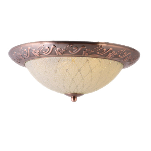 LED Decorative Ceiling Light 24 watts 3 in 1 Color, Antique Gold