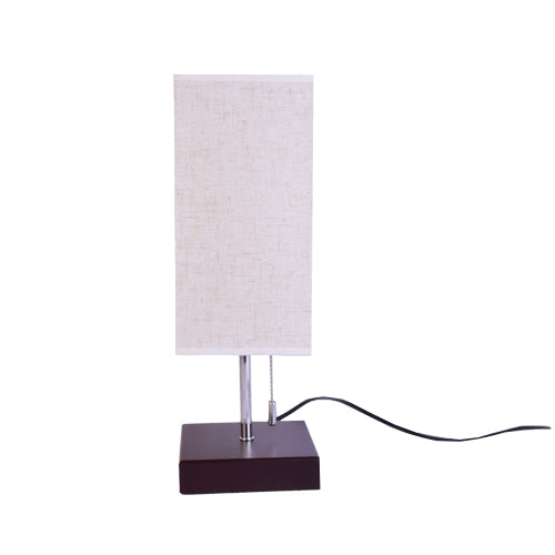 Brown E27 Table Lamp Bedside Lamp with On/Off Switch