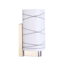 Load image into Gallery viewer, Designer White Glass Wall Light-Starry Night